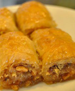Baklawa Wrap with Walnut