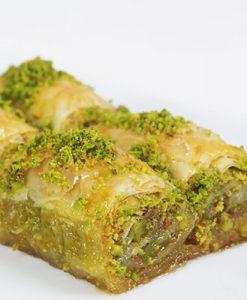 Baklawa Wrap with Pistachio