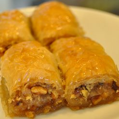 Baklawa Wrap with Walnut